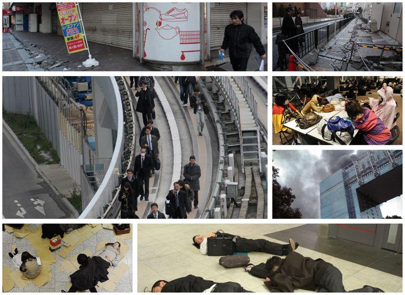 Tokyo yokohama earthquake