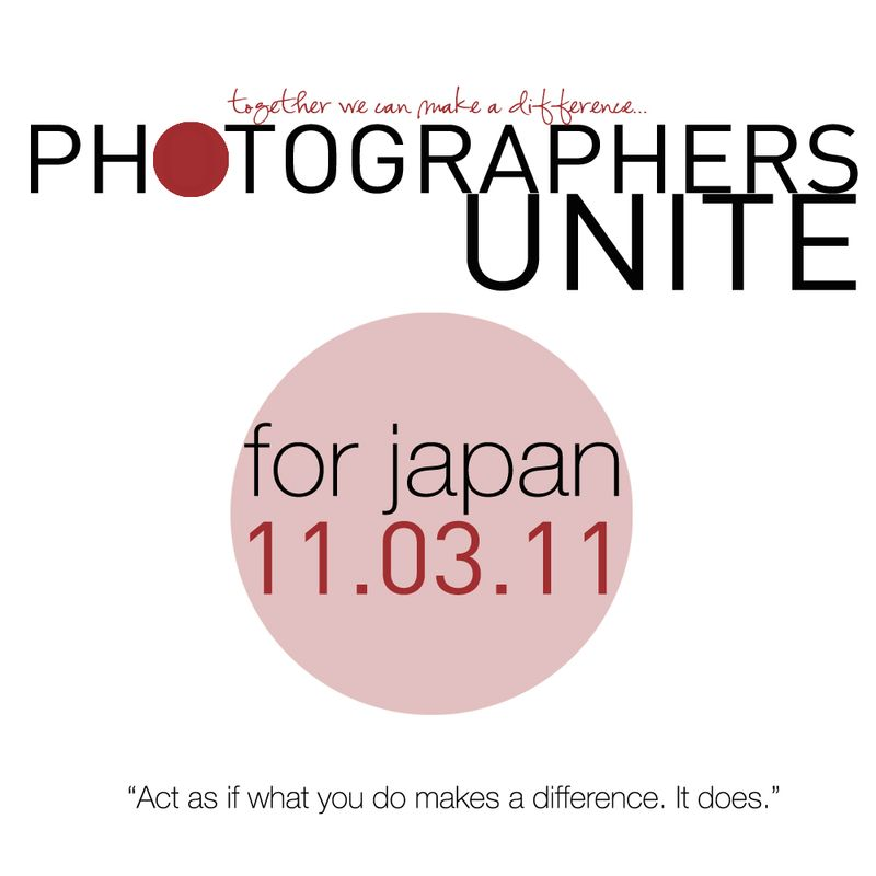Photographers unite for japan